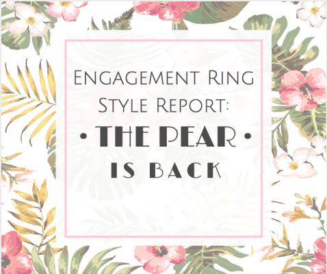 Pear shaped diamond engagement rings - Denver Engagement Rings