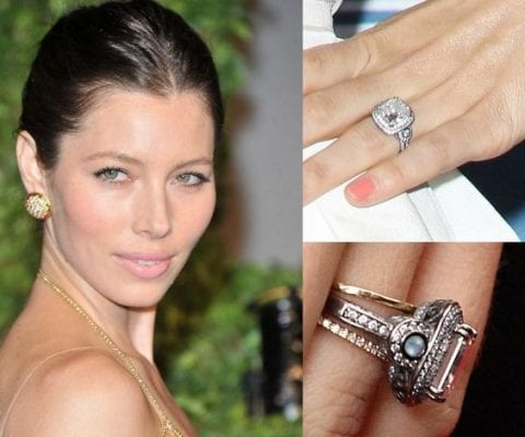 Gorgeous celebrity engagement rings