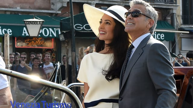 George Clooney's proposal to Amal was a little tougher than expected. . .