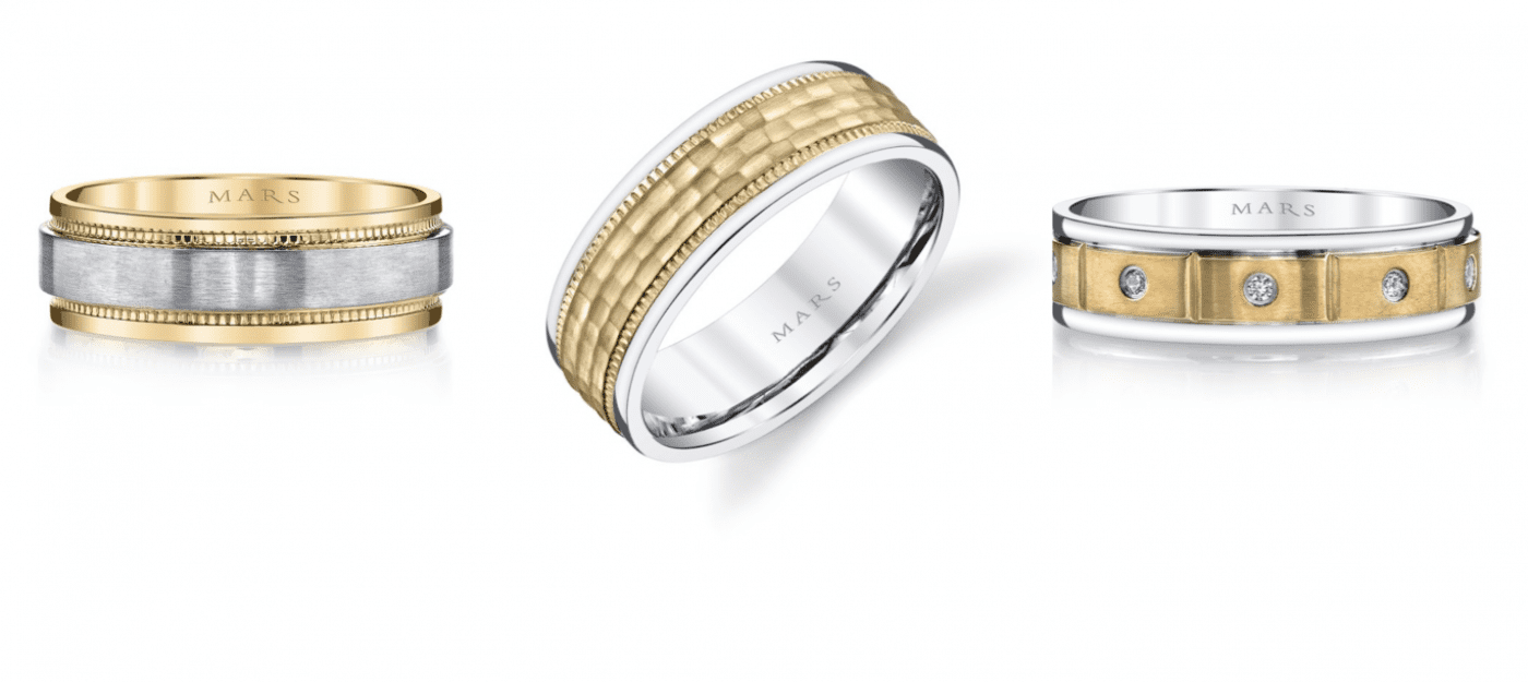Gold wedding bands are making a comeback | Mark\'s Diamonds | Custom ...
