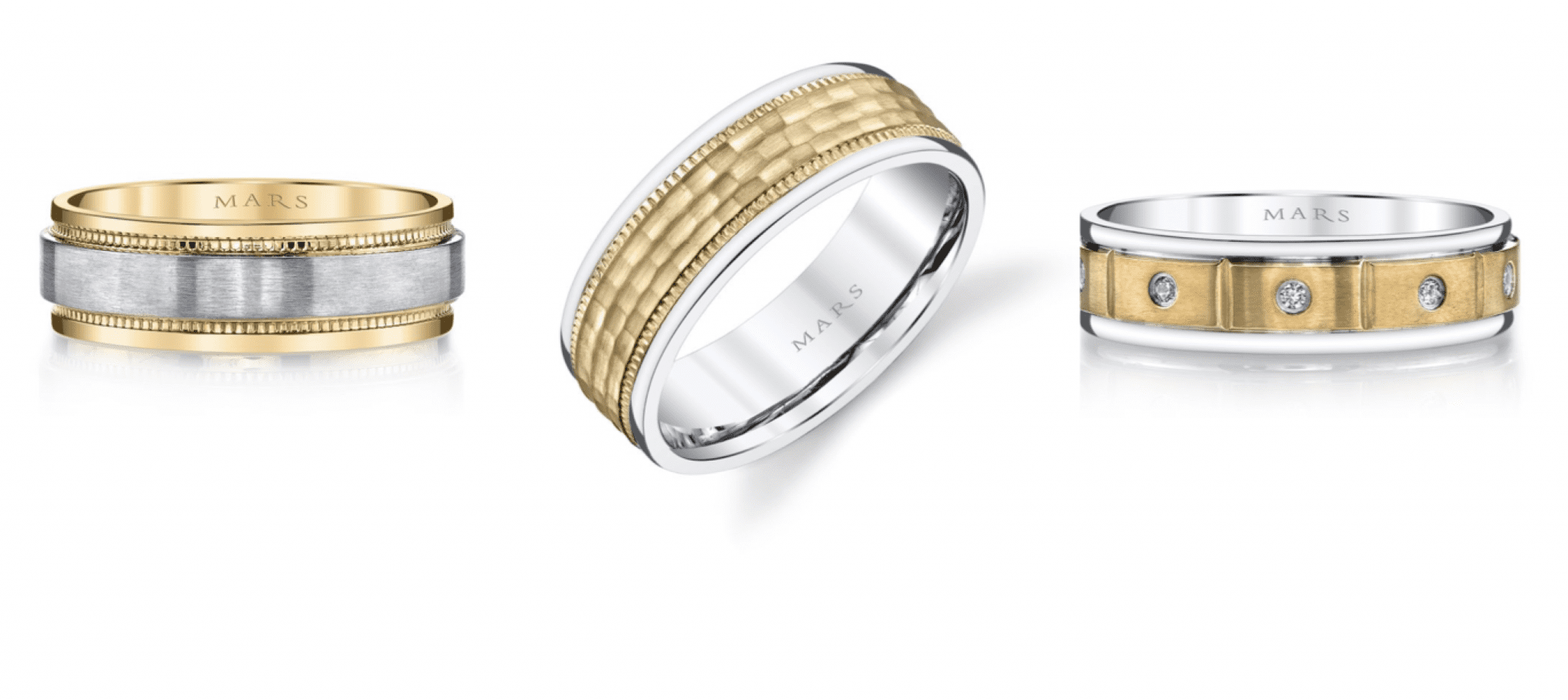 Gold wedding bands are making a comeback | Mark\'s Diamonds ...
