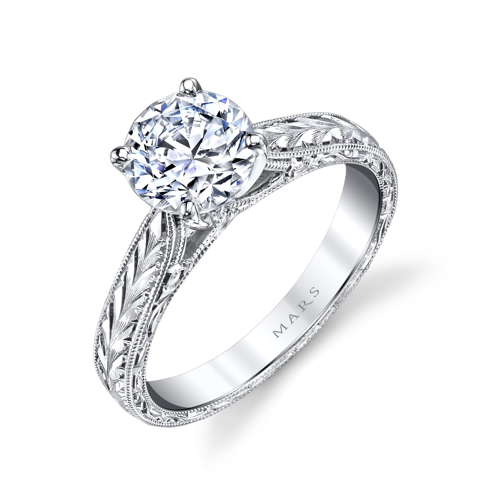 Solitaire Engagement RingStyle #: MARS 10860HE