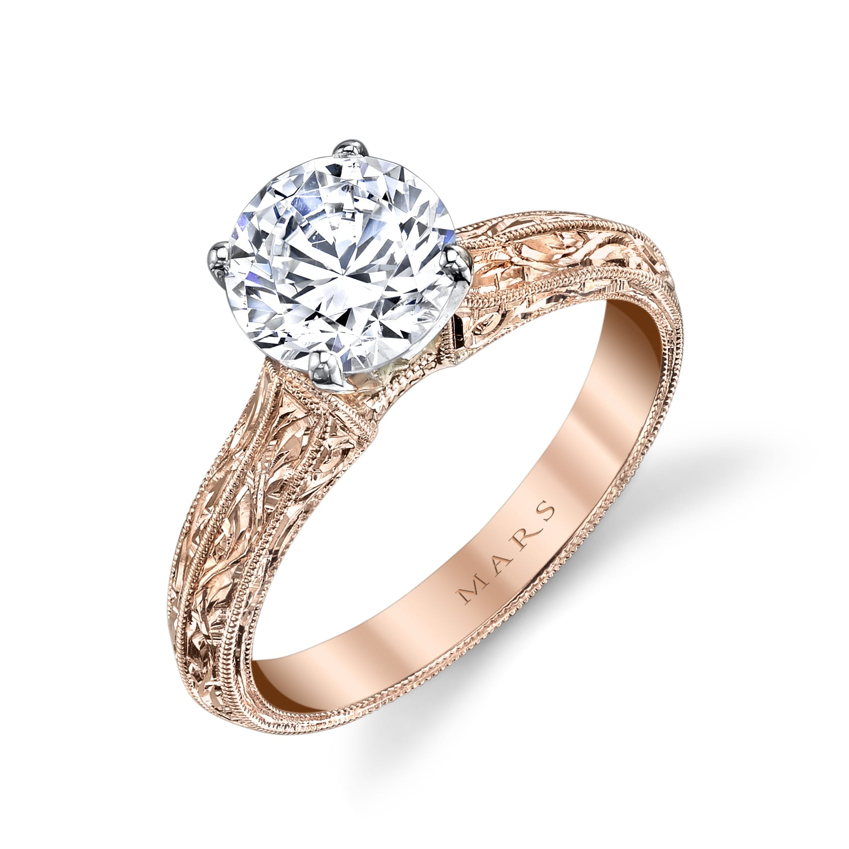 Solitaire Engagement RingStyle #: MARS 13179HE