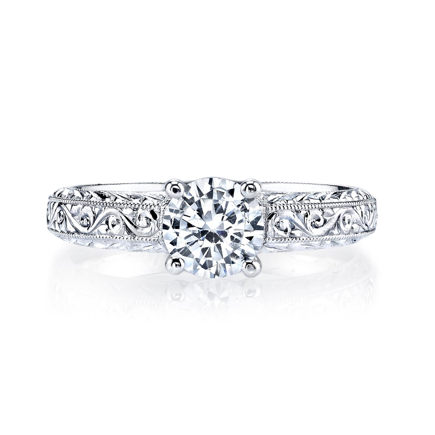 Solitaire Engagement RingStyle #: MARS 13009HE