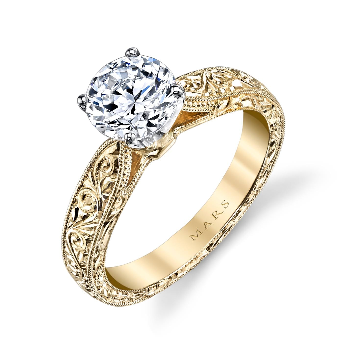 Solitaire Engagement RingStyle #: MARS 13256HE