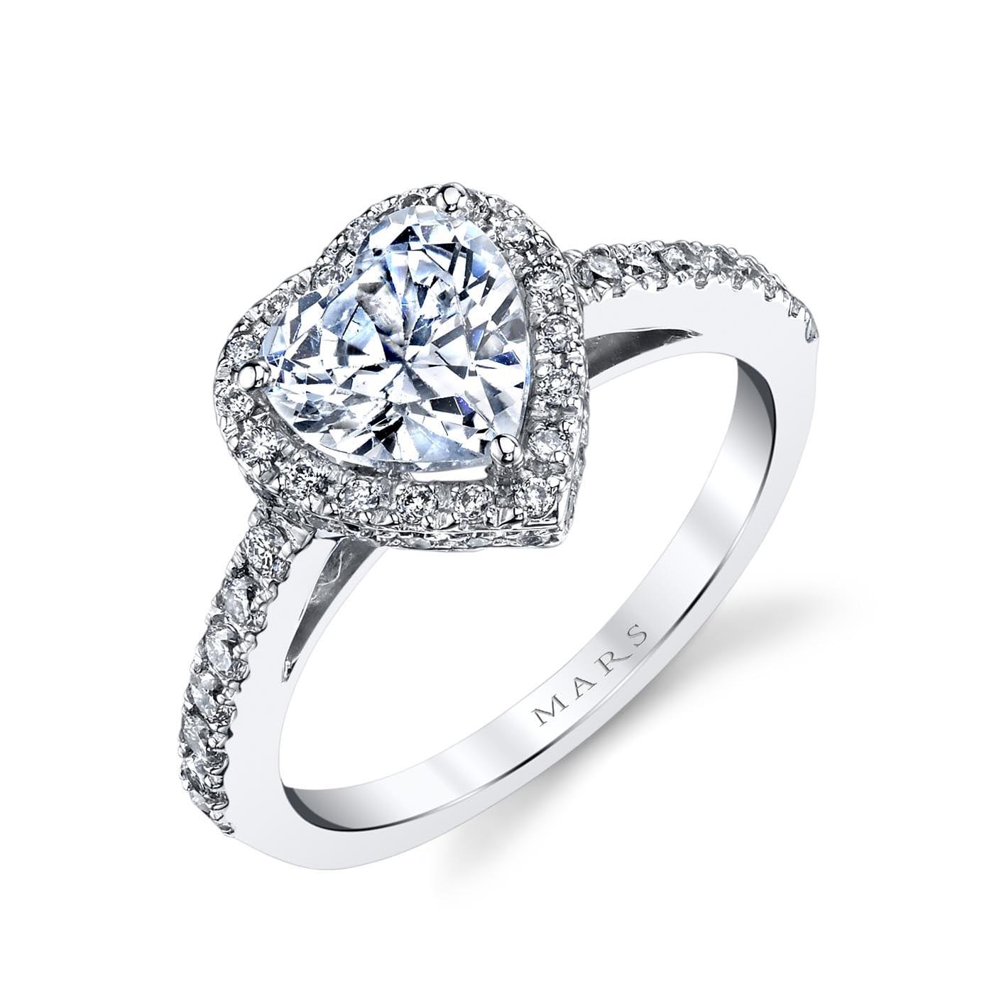 Halo Engagement RingStyle #: MARS 13759