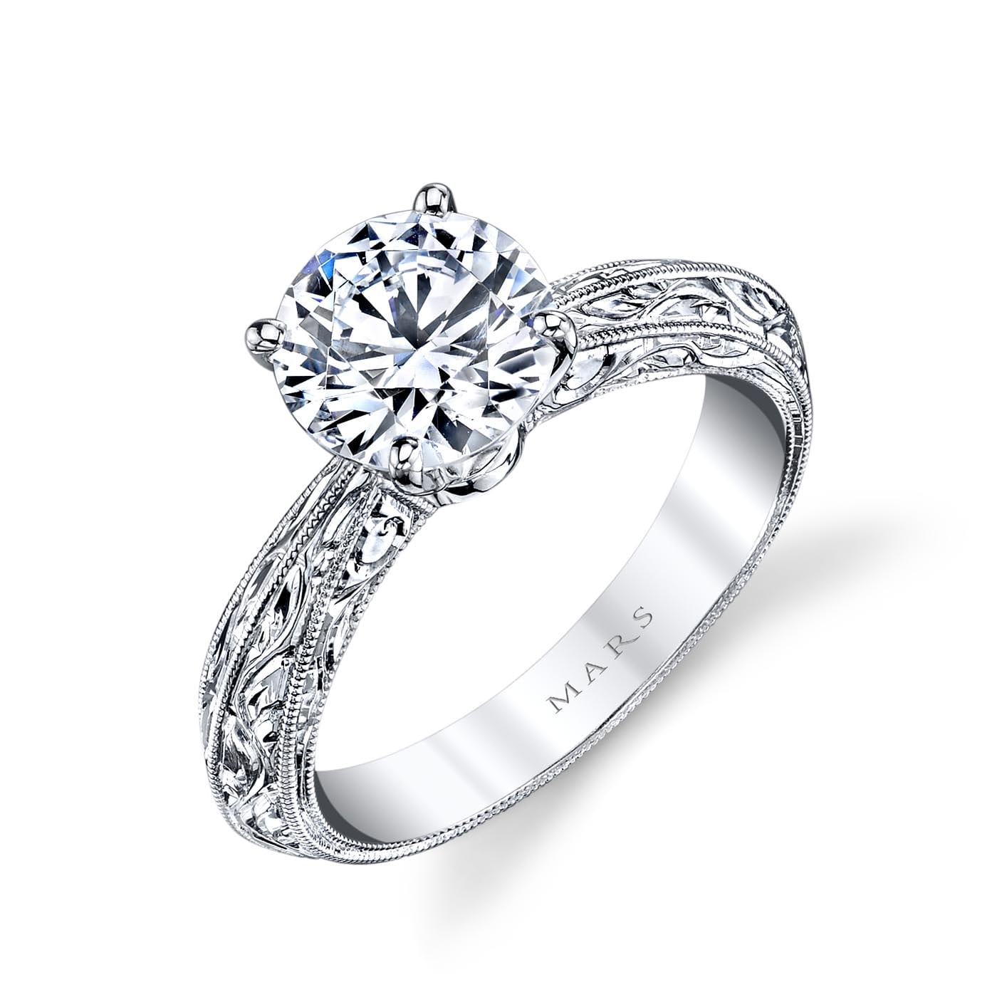 Solitaire Engagement RingStyle #: MARS 13912HE