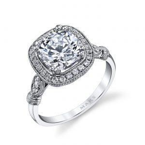 Halo Engagement RingStyle #: MARS 14664