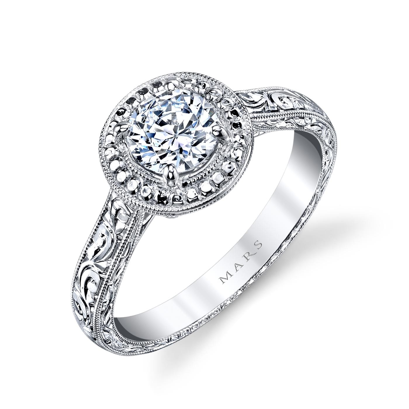 Halo Engagement RingStyle #: MARS 14761HE
