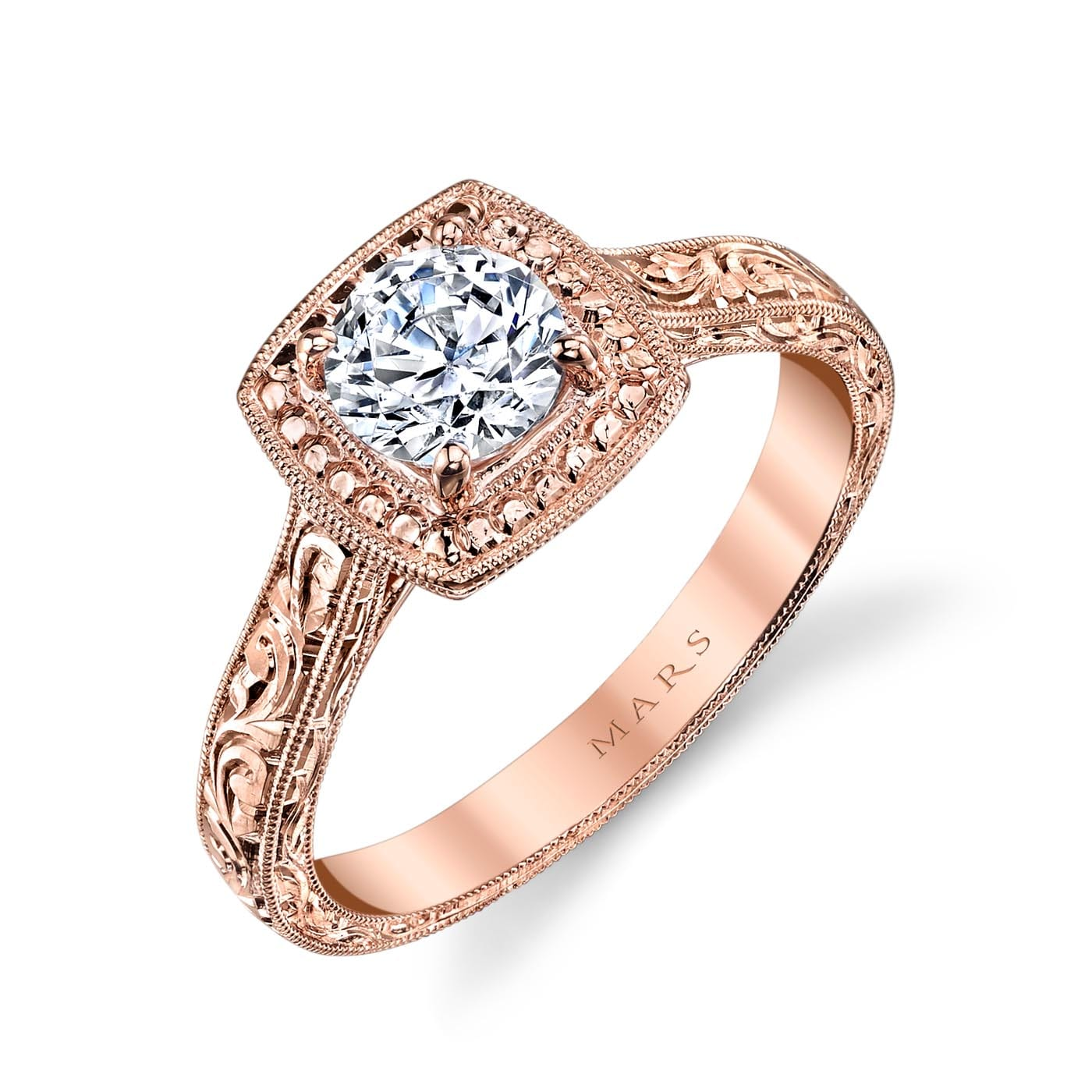 Halo Engagement RingStyle #: MARS 14762HE