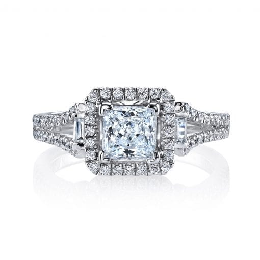 Classic Engagement Ring<br>Style #: MARS 25003