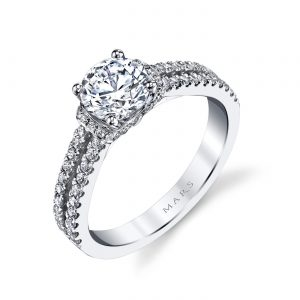 Classic Engagement RingStyle #: MARS 25038