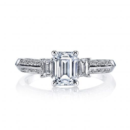 Classic Engagement Ring<br>Style #: MARS 25088