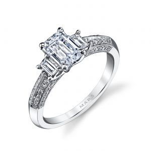 Classic Engagement RingStyle #: MARS 25088