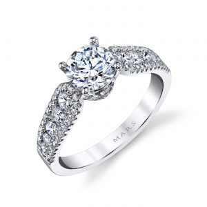 Classic Engagement RingStyle #: MARS 25095