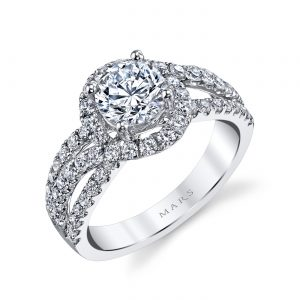 Infinity Engagement RingStyle #: MARS 25097