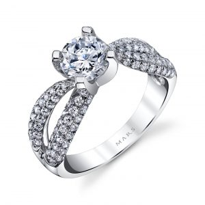 Infinity Engagement RingStyle #: MARS 25101