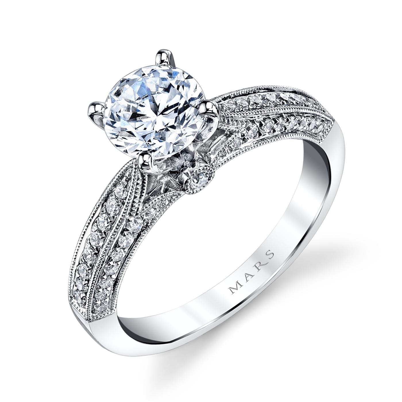 Classic Engagement RingStyle #: MARS 25105
