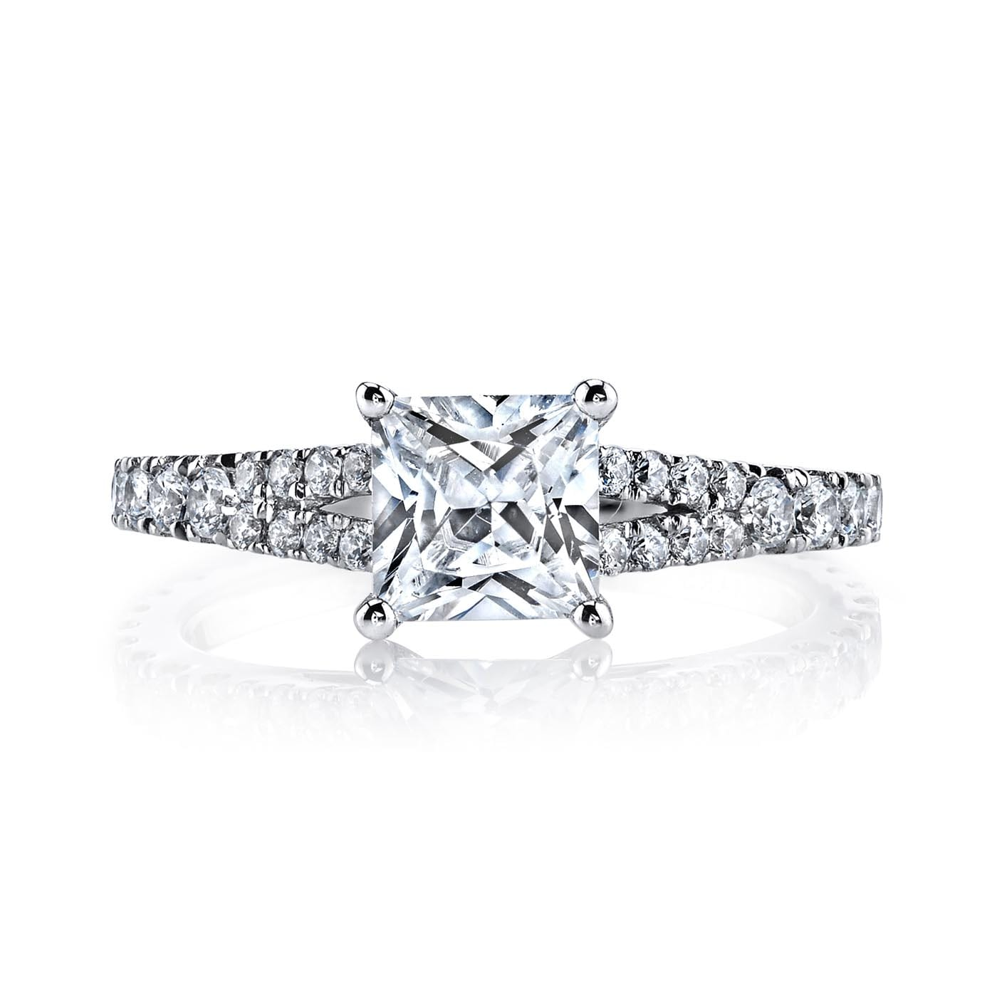 Classic Engagement RingStyle #: MARS 25134