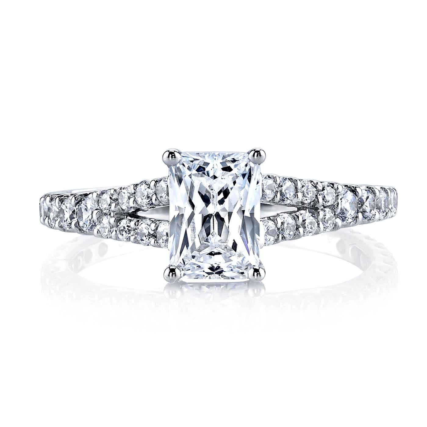 Classic Engagement RingStyle #: MARS 25139