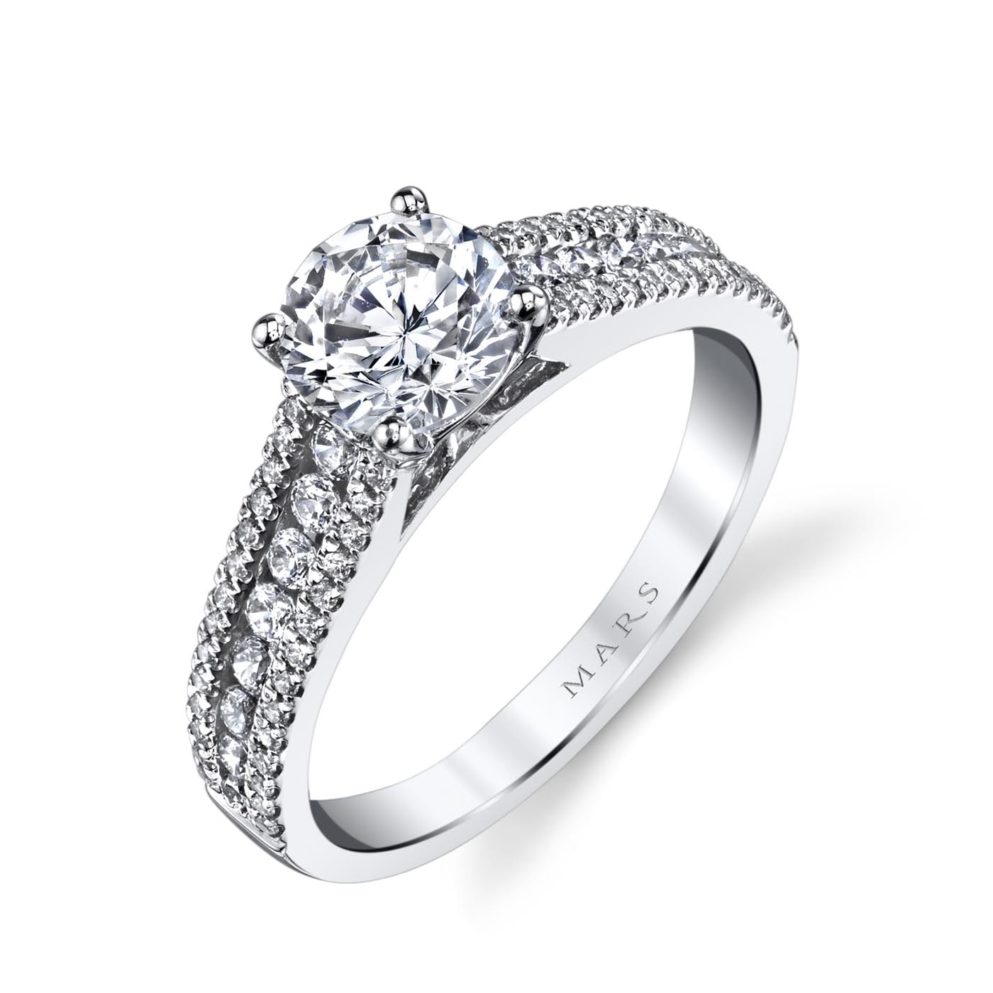 Classic Engagement RingStyle #: MARS 25145