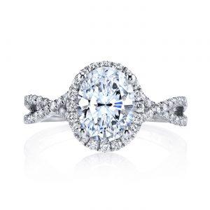 Halo Engagement RingStyle #: MARS 25156