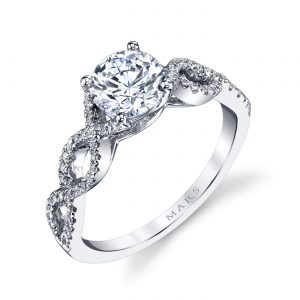 Classic Engagement RingStyle #: MARS 25162