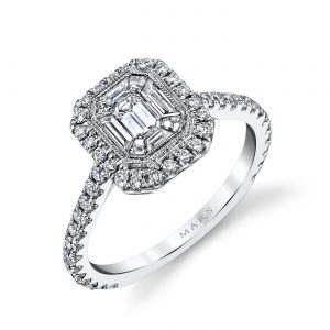 Halo Engagement RingStyle #: MARS 25169