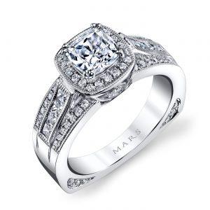 Halo Engagement RingStyle #: MARS 25225