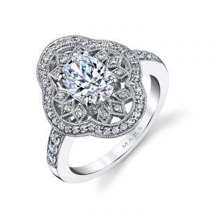 Vintage Engagement RingStyle #: MARS 25262