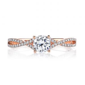 Classic Engagement RingStyle #: MARS 25279