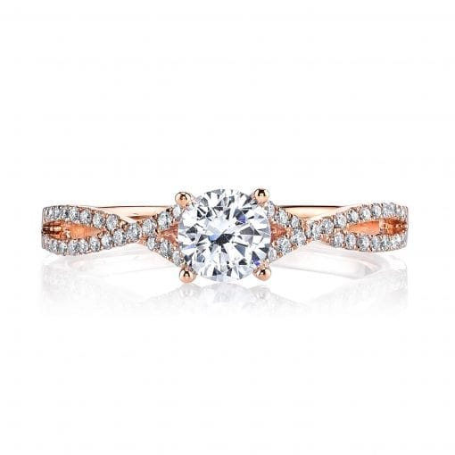Classic Engagement Ring<br>Style #: MARS 25279
