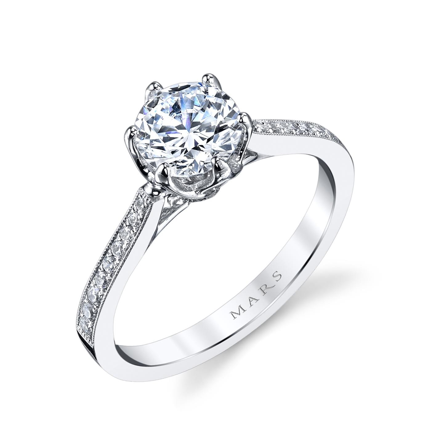 Classic Engagement RingStyle #: MARS 25283
