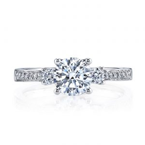 Classic Engagement RingStyle #: MARS 25352