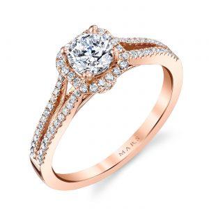 Halo Engagement RingStyle #: MARS 25355