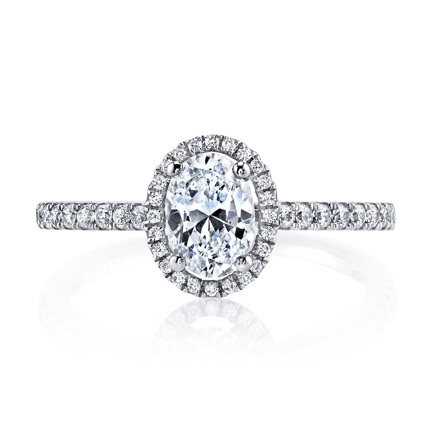 Classic Engagement RingStyle #: MARS 25377
