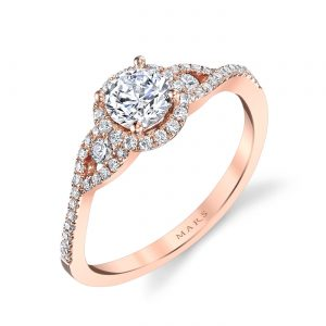Halo Engagement RingStyle #: MARS 25386