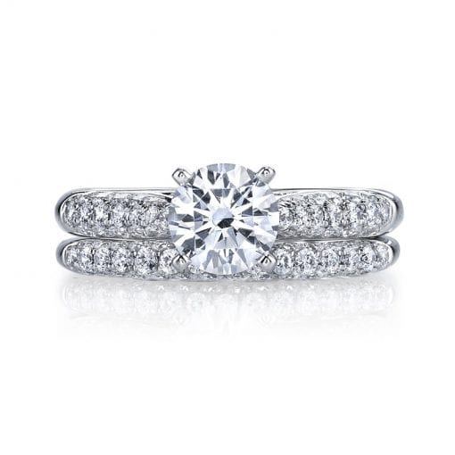 Classic Engagement Ring<br>Style #: MARS 25447