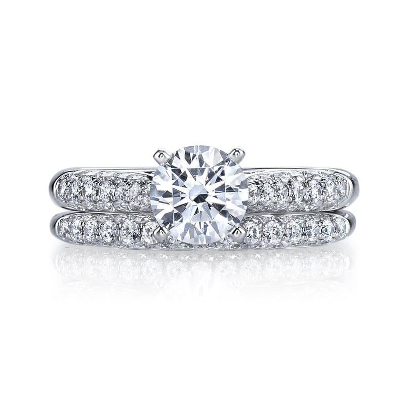 Classic Engagement RingStyle #: MARS 25447