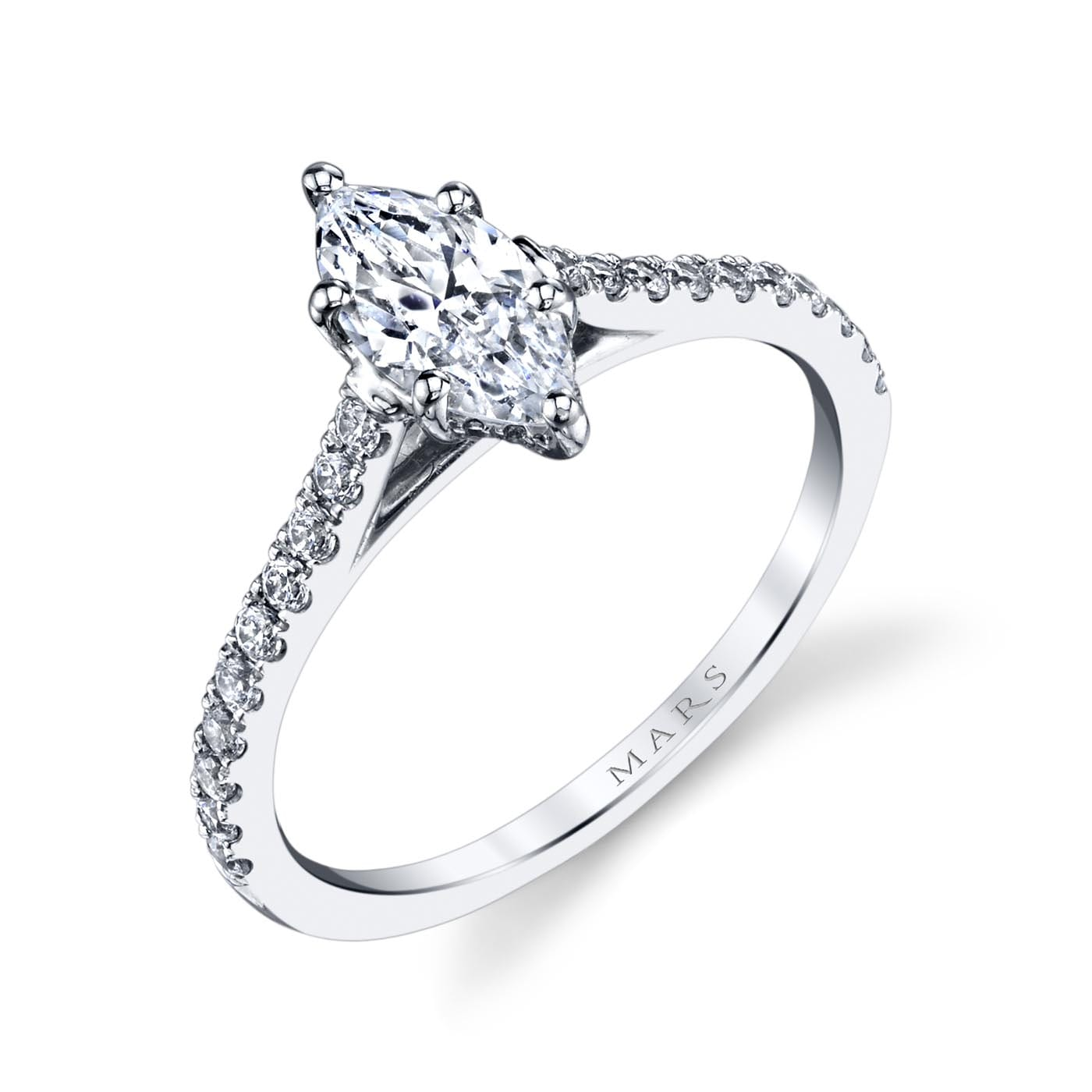 Classic Engagement RingStyle #: MARS 25451