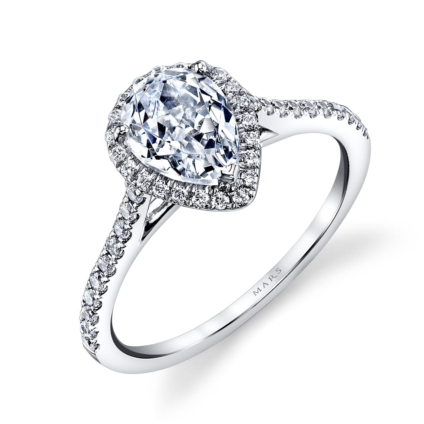 Classic Engagement RingStyle #: MARS 25467