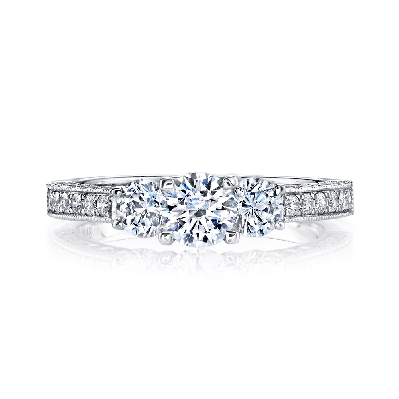 Classic Engagement RingStyle #: MARS 25472