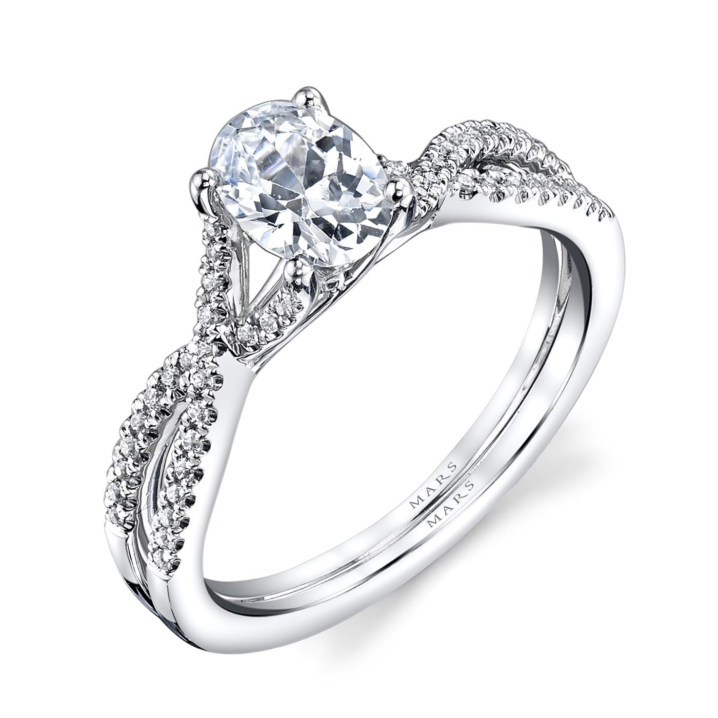 Classic Engagement RingStyle #: MARS 25475