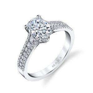 Classic Engagement RingStyle #: MARS 25478