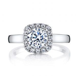 Halo Engagement RingStyle #: MARS 25517
