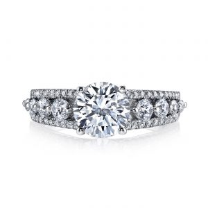 Classic Engagement RingStyle #: MARS 25526