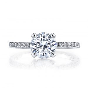 Classic Engagement RingStyle #: MARS 25527