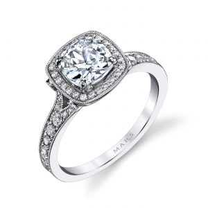 Halo Engagement RingStyle #: MARS 25530