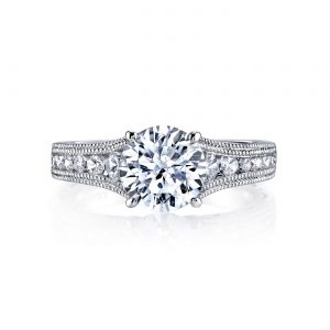 Classic Engagement RingStyle #: MARS 25545