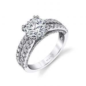 Classic Engagement RingStyle #: MARS 25564